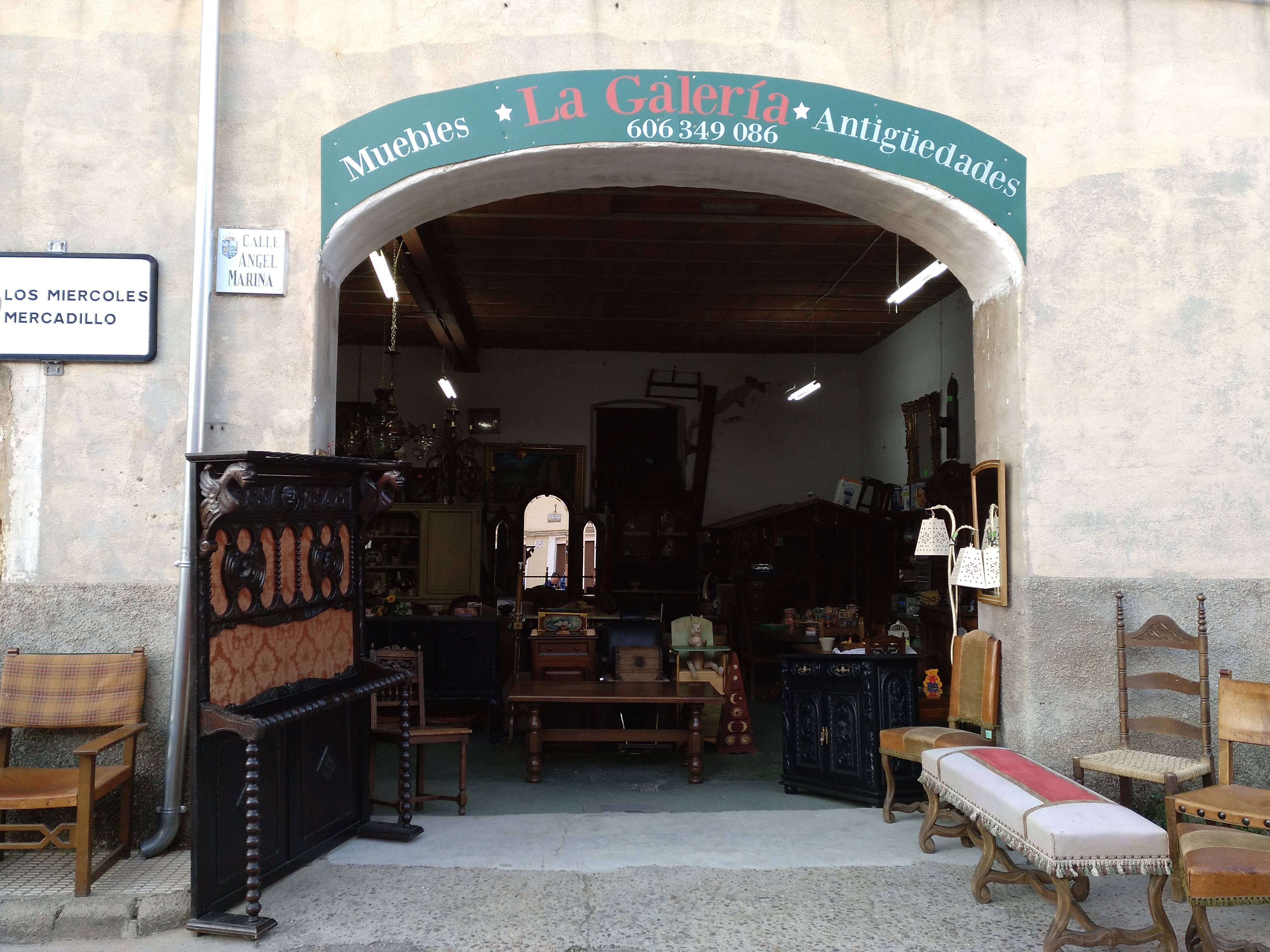 Foto fachada tienda