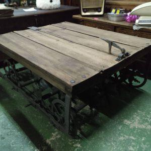 Trillo restaurado preparado para hacer mesa si se quiere 1