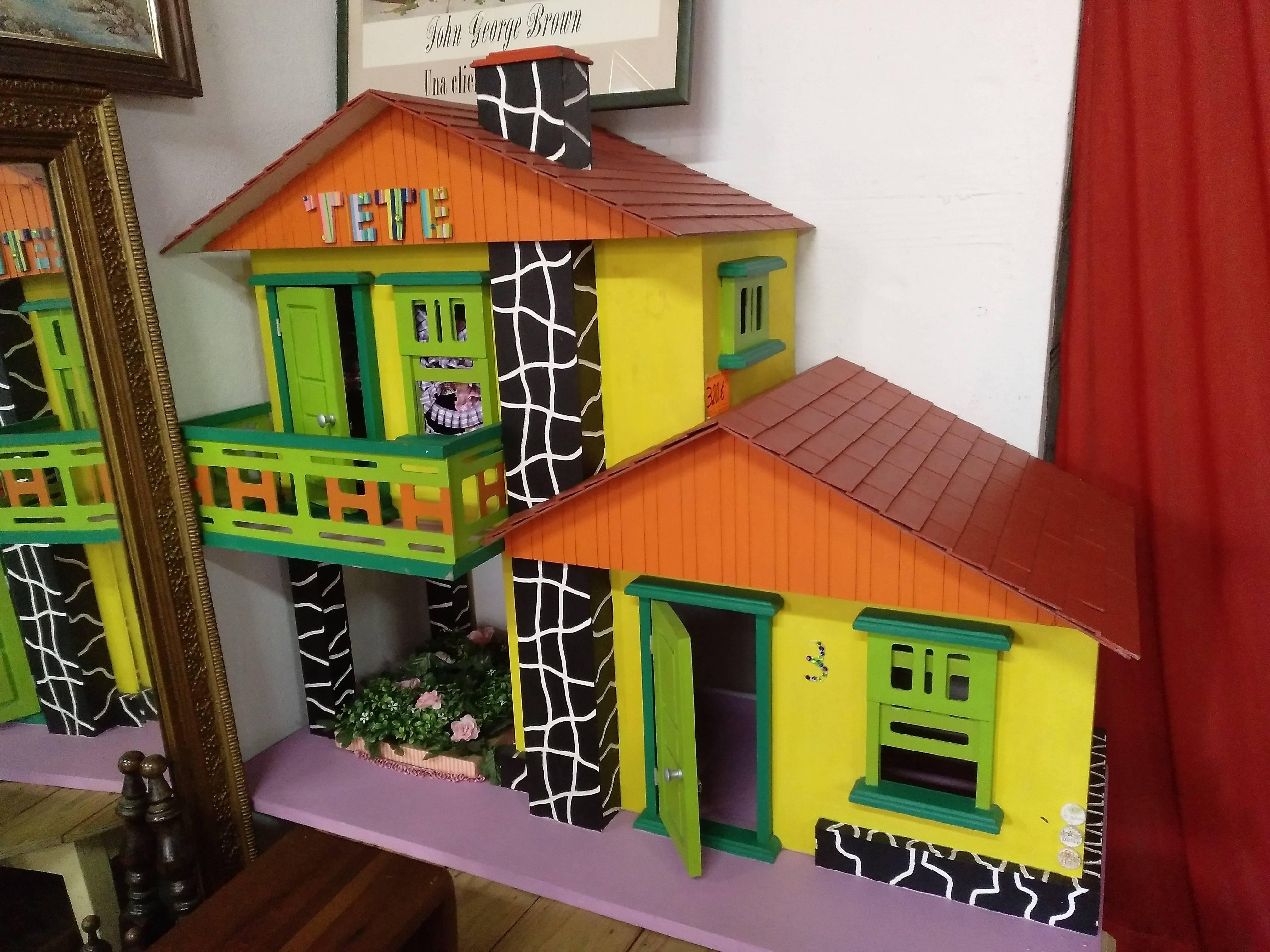 Casa de madera hecha a mano 1