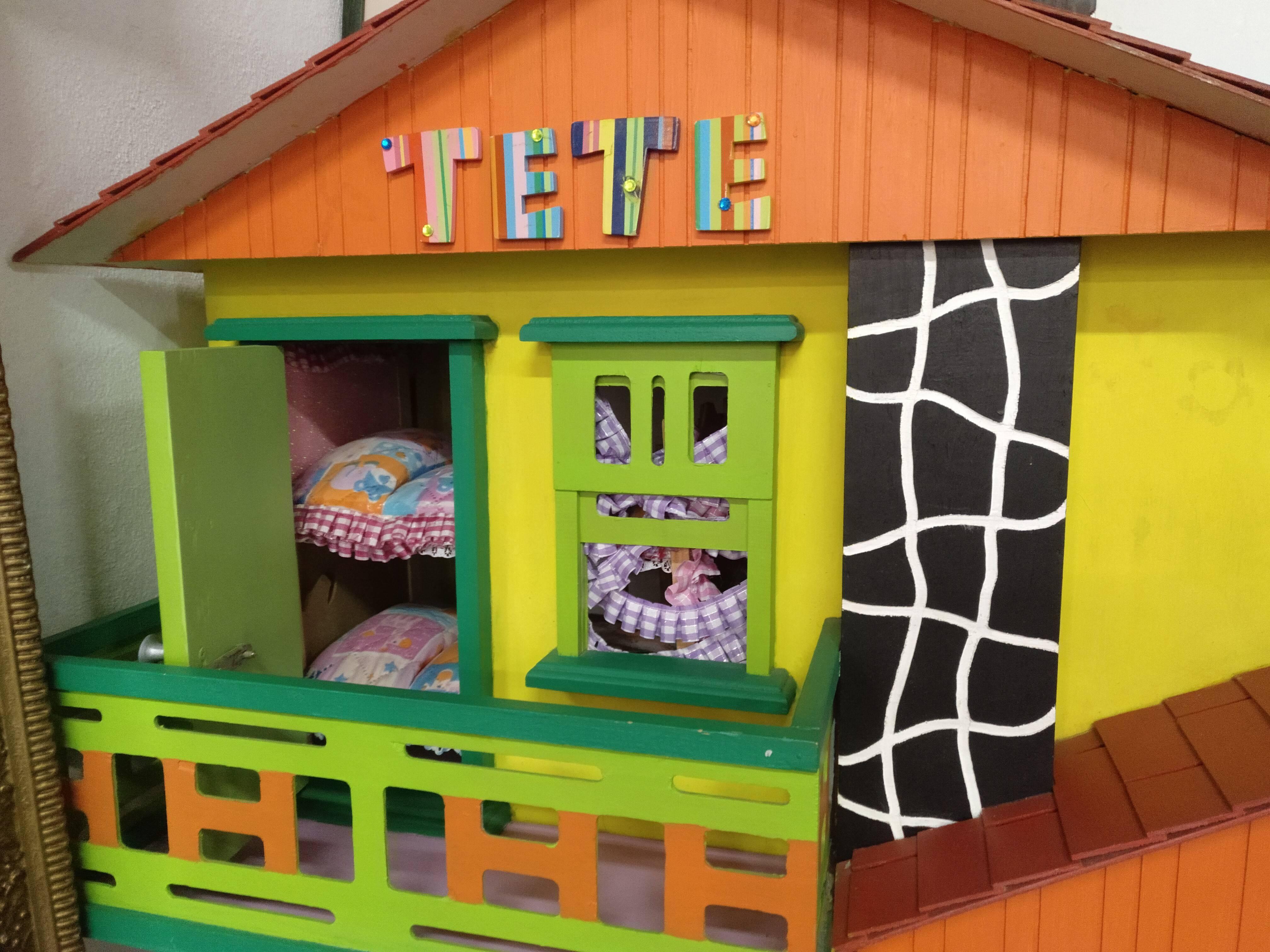 Casa de madera hecha a mano 3