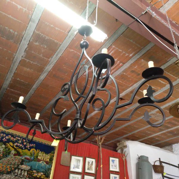 Lámpara 6 brazos de diseño 1