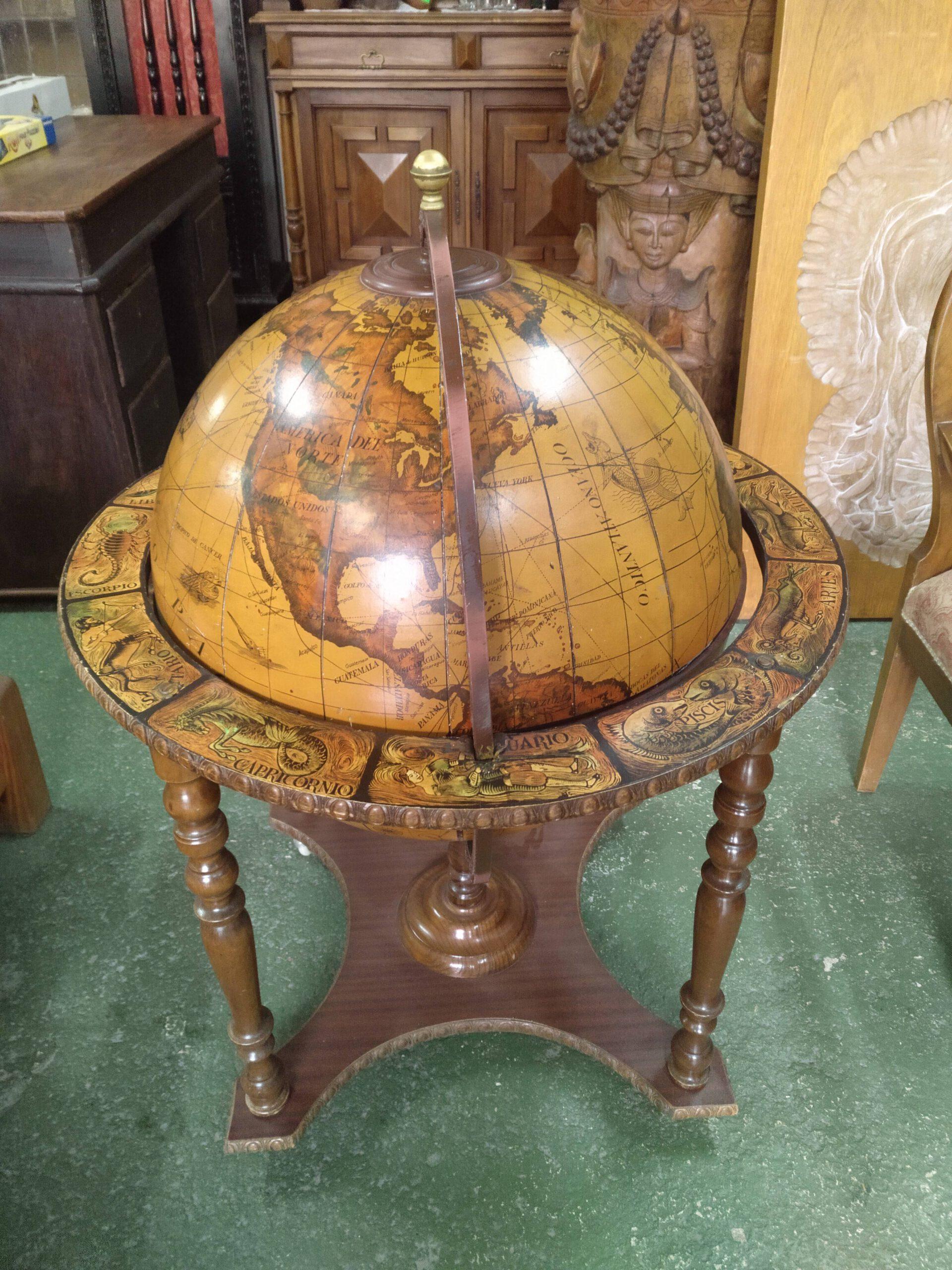 Bola del mundo mueble bar 1