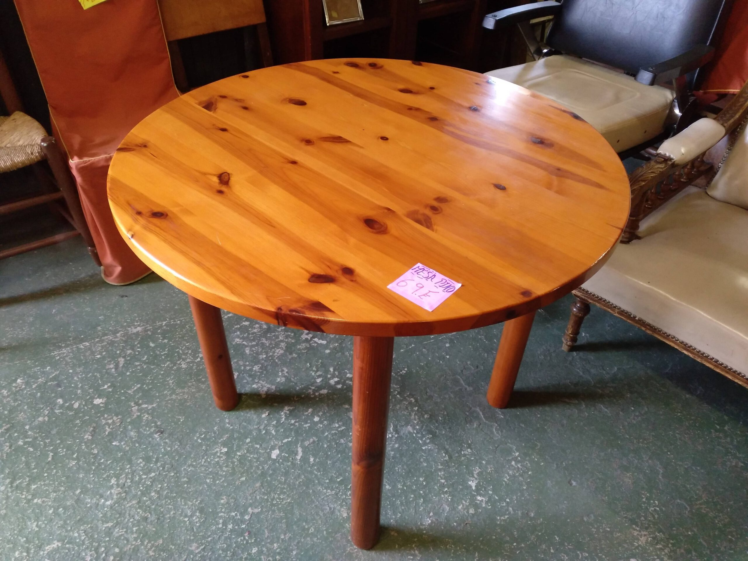 Mesa de pino 2