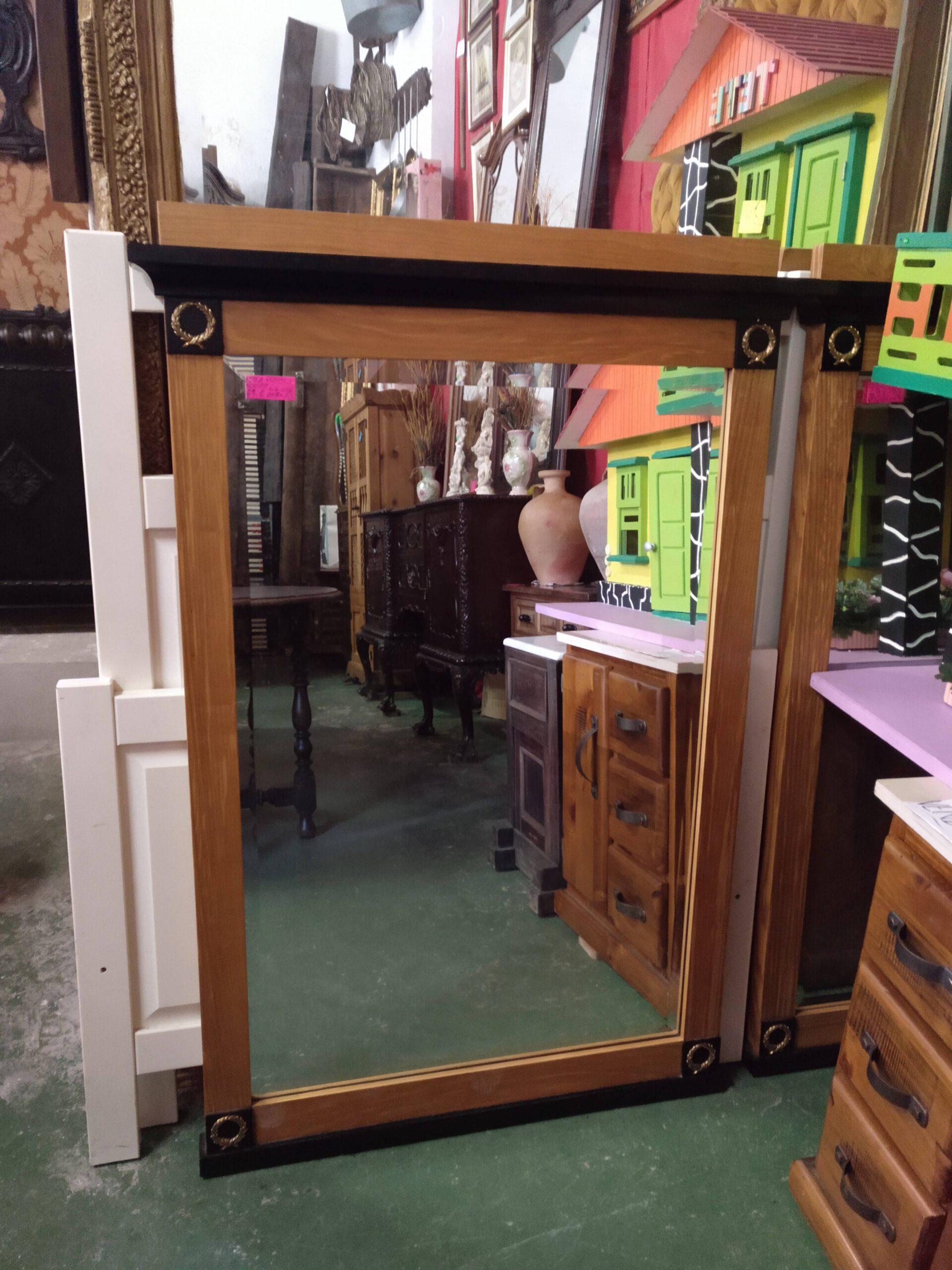 Espejo con cristal biselado modelo 2